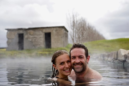 Secret Lagoon Geothermal Hot Pool   Golden Circle: Platinum tour   Hidden Iceland   Photo by Lucas Peters