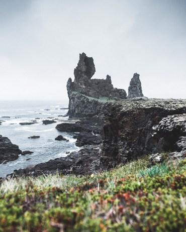 Lóndrangar cliffs   Snæfellsnes Peninsula Tour   Hidden Iceland   Photo by Norris Niman
