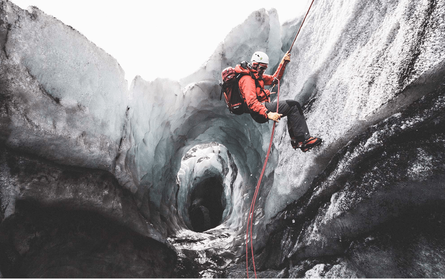 Ice climbing | Hidden Iceland | Photo by Norris Niman * Feature