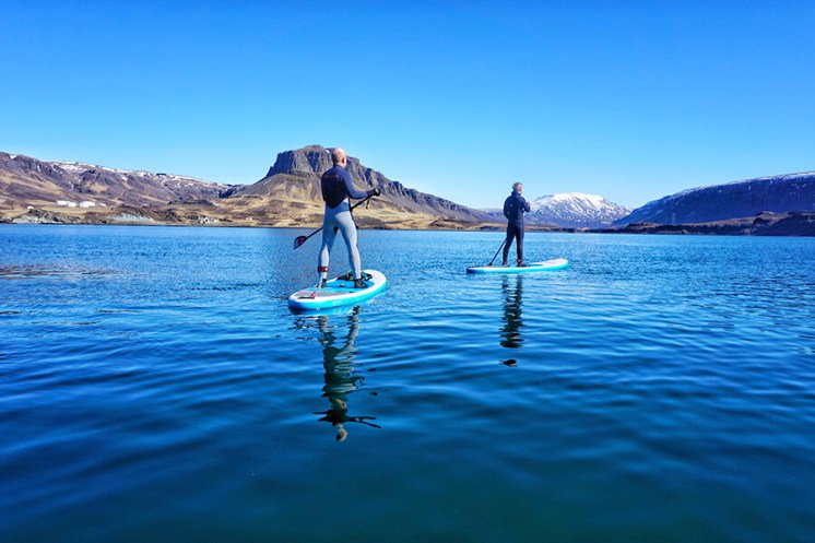 SUP In The Forgotten Fjord | Hidden Iceland