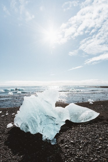 Diamond Beach | Jökulsárlón Glacier Lagoon 2 Day Tour | Hidden Iceland | Photo by Emily Sillett