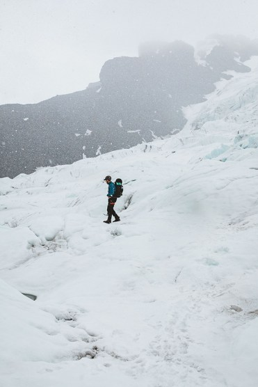 Glacier Hike on Falljökull Glacier | Jökulsárlón Glacier Lagoon 2 Day Tour | Hidden Iceland | Photo by Emily Sillet