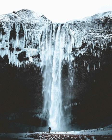 Seljalandsfoss waterfall | South Coast: Fire & Ice Tour | Hidden Iceland | Photo by Norris Niman