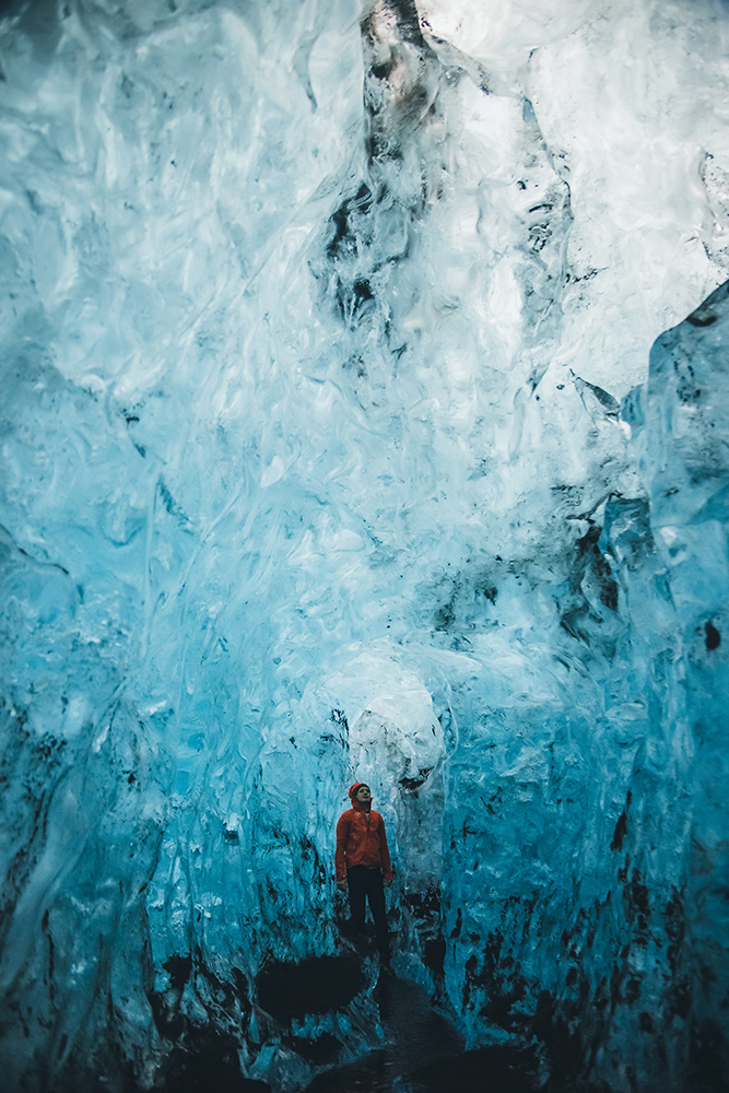 Blue Diamond Ice Cave | Ice Cave Tour | Hidden Iceland | Photo by Eugenia Di Pasquale