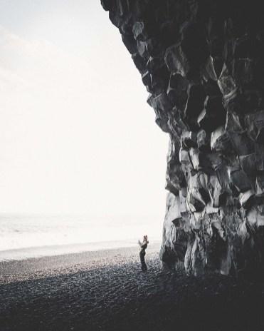 Reynisfjara Black Sand Beach | South Coast: Fire & Ice Tour | Hidden Iceland | Photo by Norris Niman