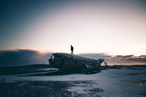 DC Plane Wreck | Hidden Iceland | Photo by Brendan Bannister