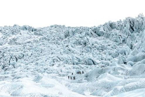 Falljökull Glacier | Jökulsárlón Glacier Lagoon 2 Day Tour | Hidden Iceland | Photo by Amy Robinsson