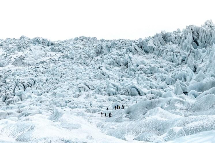 Falljökull Glacier   Jökulsárlón Glacier Lagoon 2 Day Tour   Hidden Iceland   Photo by Amy Robinsson