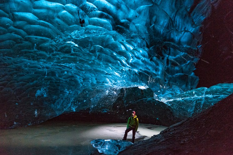 Blue Dragon Helicopter Ice Cave Tour   Hidden Iceland   Photo by Scott Drummond