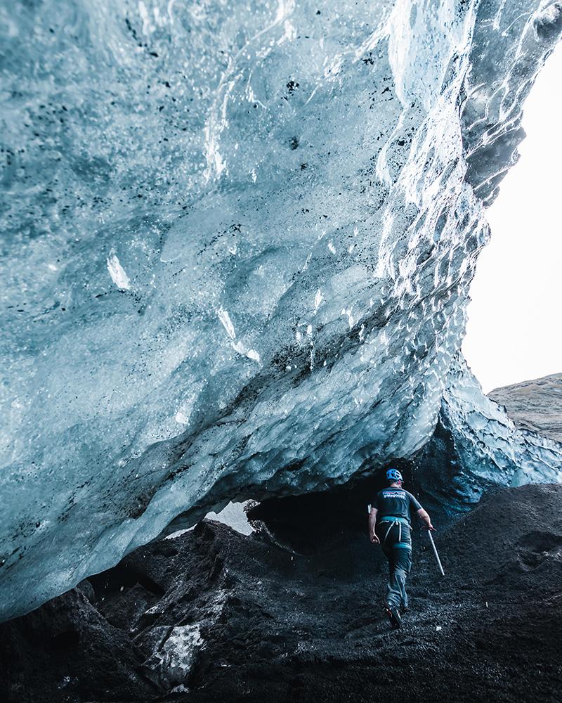 Sólheimajökull Glacier | South Coast: Fire Tour | Hidden Iceland | Photo by Paul Fencaros