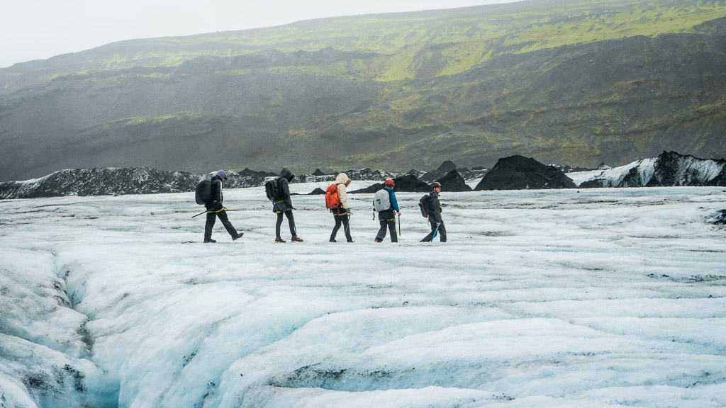 Sólheimajökull Glacier Hike | South Coast: Fire & Ice Tour | Hidden Iceland | Photo Danny Mcgee