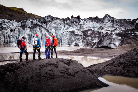 Sólheimajökull Glacier Hike | South Coast: Fire & Ice Tour | Hidden Iceland | Photo Rachel Keenan Photography | Feature