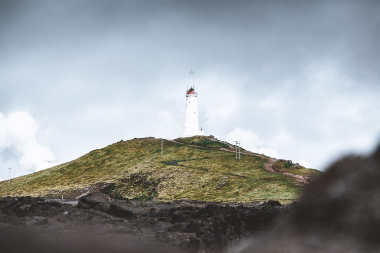 Reykjanesviti Lighthouse | Reykjanes & Lava Tunnel tour | Hidden Iceland | Photo Norris Niman