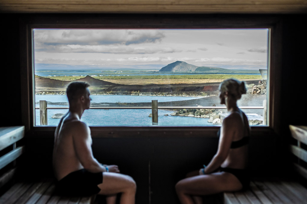 Myvatn Nature Baths Steam Room | Hidden Iceland | Photo Myvatn Nature Baths