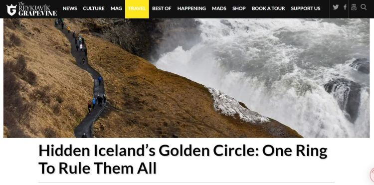 Hidden Iceland in the news