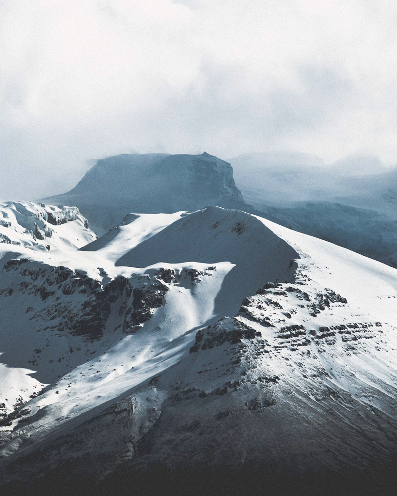 Winter Mountains | Hidden Iceland | Photo Norris Niman