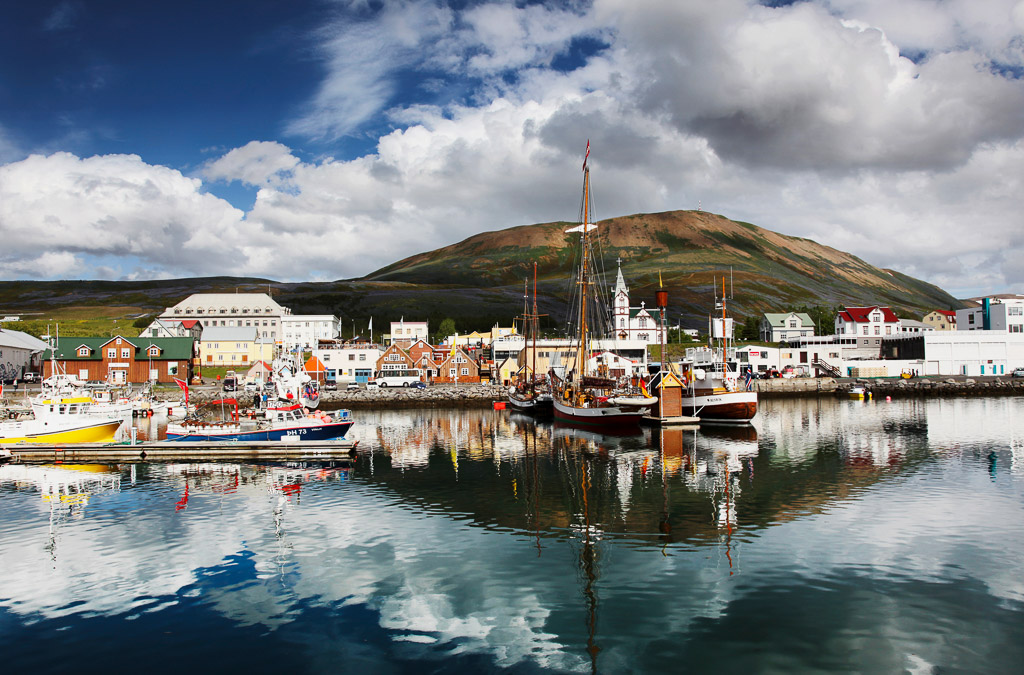 Husavik Harbour | Hidden Iceland | Photo North Sailing