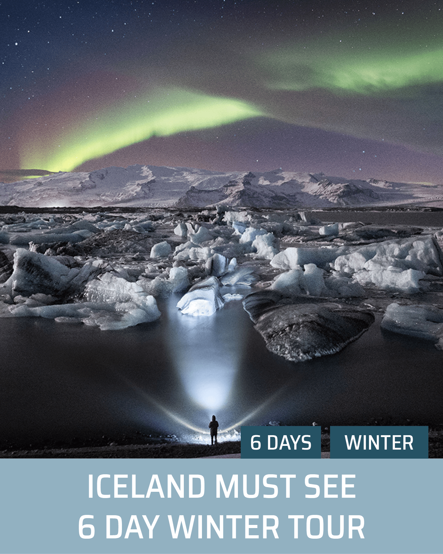 Iceland Must See 6 Day Winter Tour. Hidden Iceland (Image Hover)