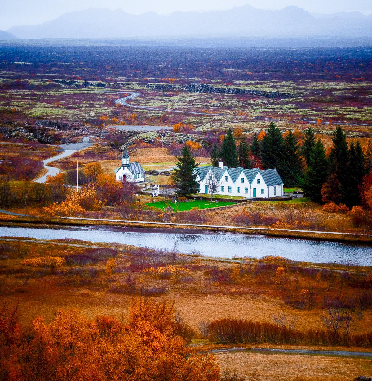 Thingvellir National Park in the Golden Circle Platinum Tour. Photo by Dennis Steve