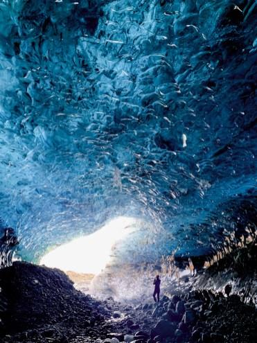 Sapphire Ice Cave by Scott Drummond, Hidden Iceland.