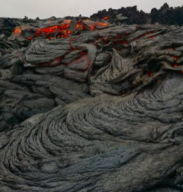 Thin Pahoehoe Lava layers at the Gerlingadalur Volcano by Dr. Holly Spice. Hidden Iceland (5).