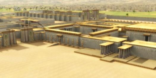 Tel el Amarna - Akhetaton.  Una reconstrucción 3D