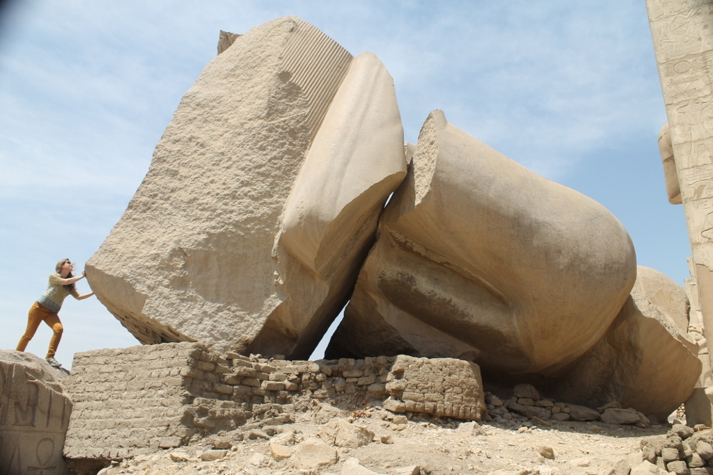 The Largest Sculpture In The World Destroyed By An