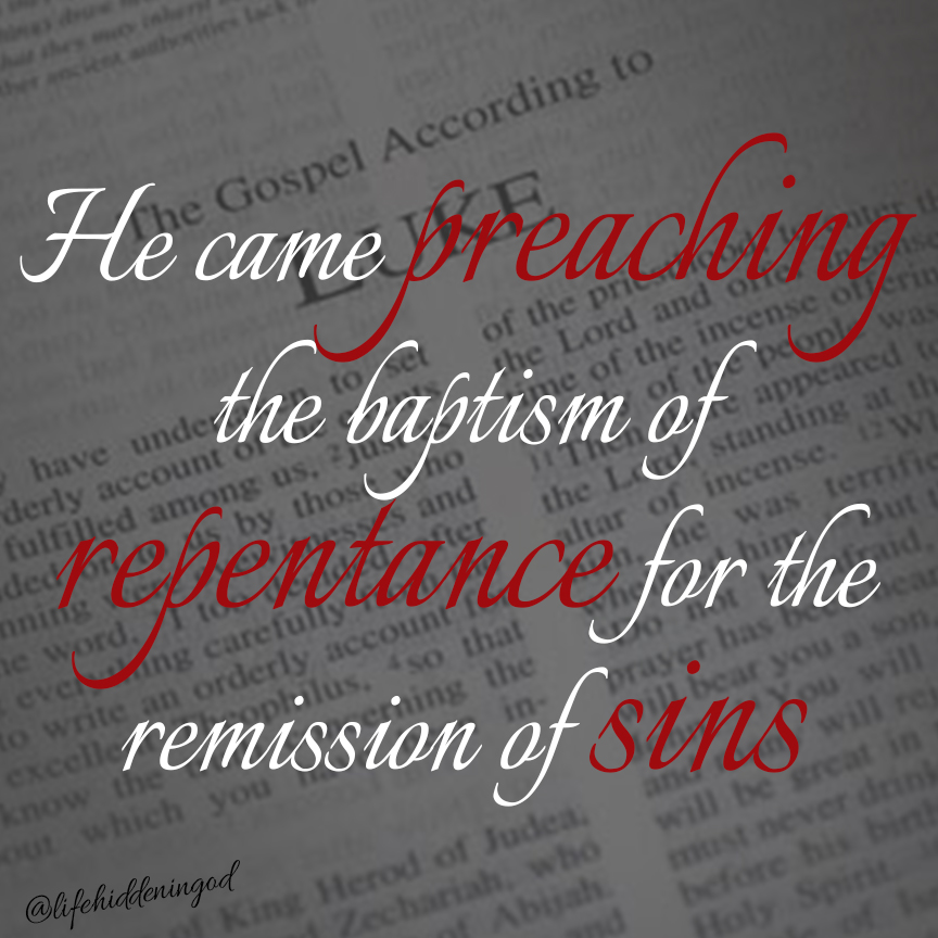 Repent And Be Freed And Forgiven Of Sins