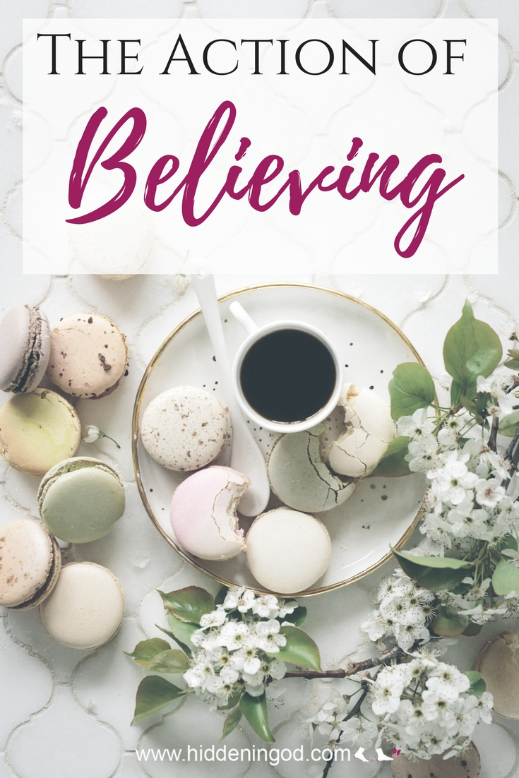 Acting On The Action of Believing