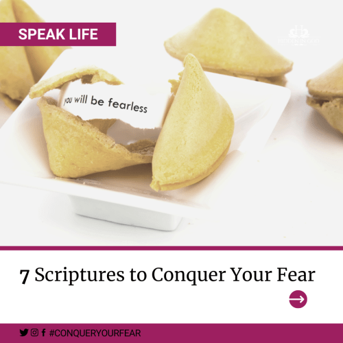 Scriptures to Conquer Your Fear