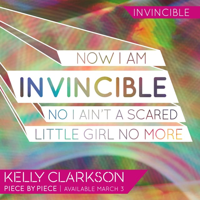 Lyrics Card Invincible