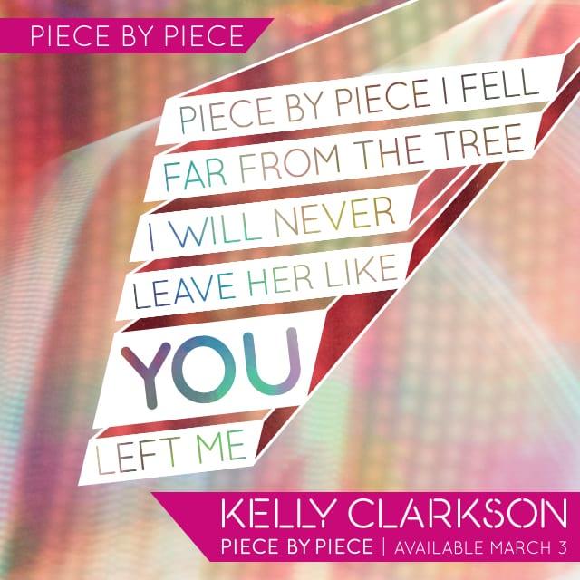 Lyrics Card Piece By Piece