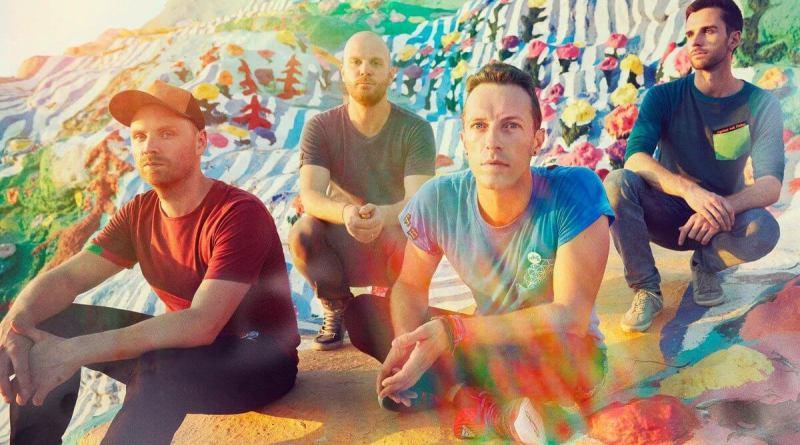 Coldplay Kaleidoscope Hypnotised