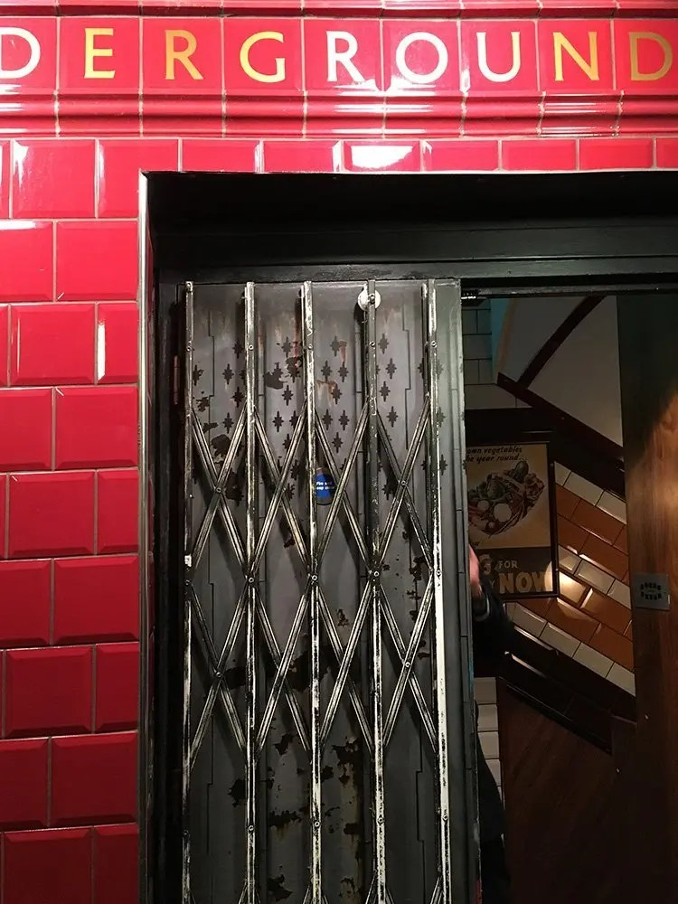 The Secret Entrance of Cahoots in London