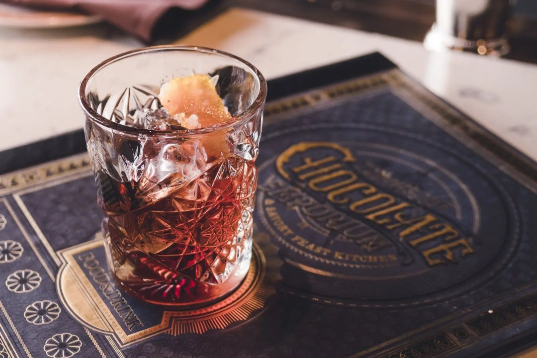 Toothsome's Famous Chocolate Old Fashioned