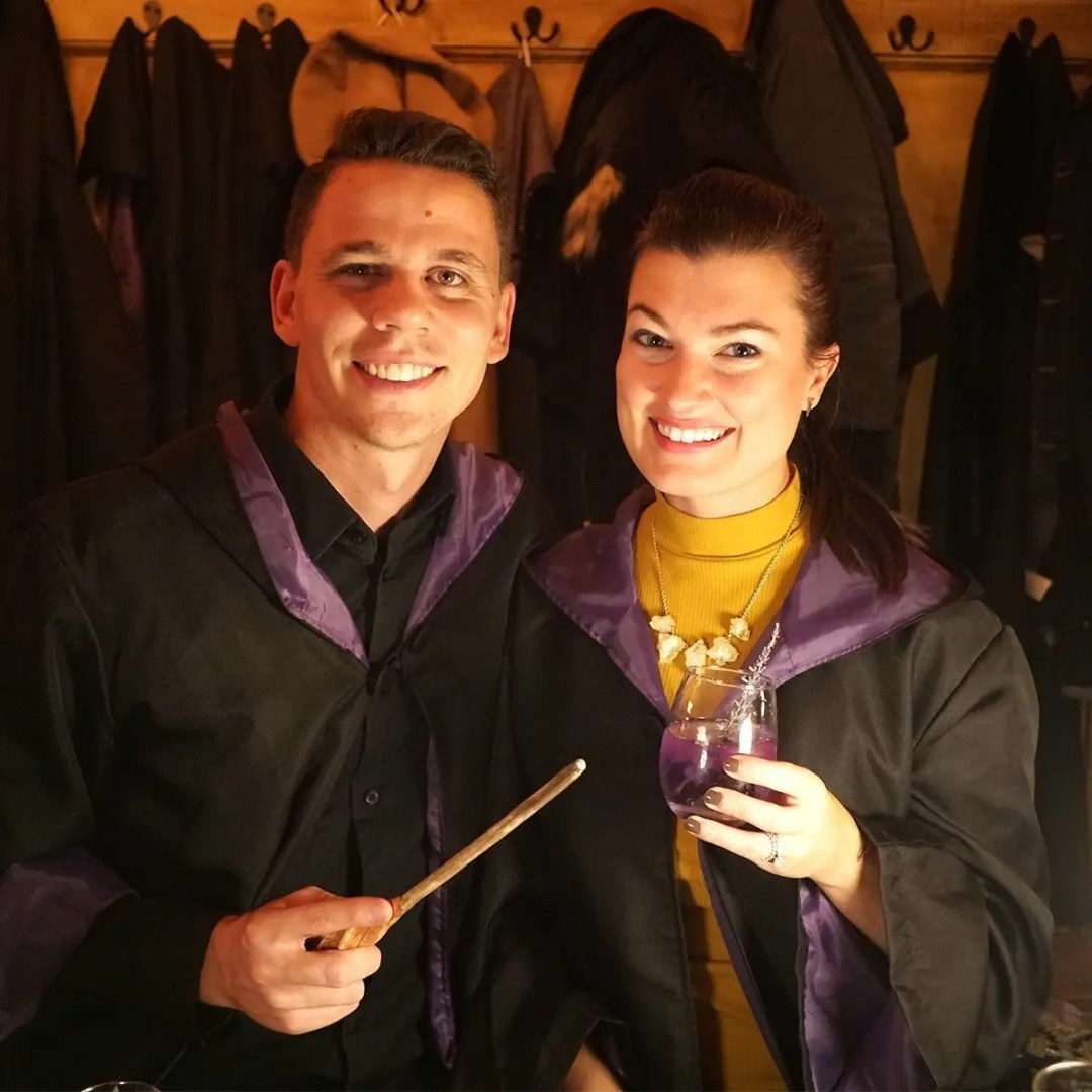 Slytherins love Potions class!