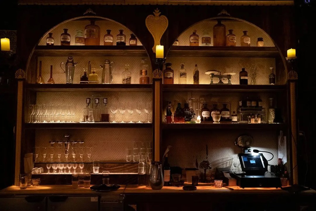 Try Some apothecary concoctions at Apotheke