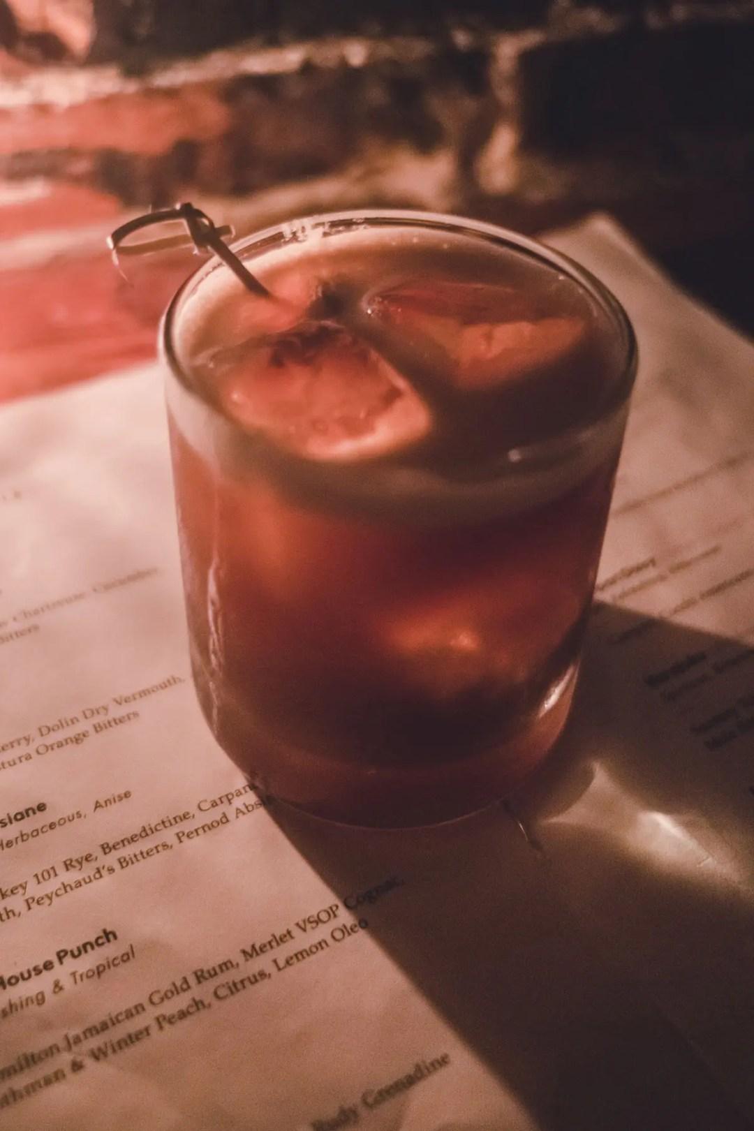 Hanson's Shoe Repair's Delicious Cocktails