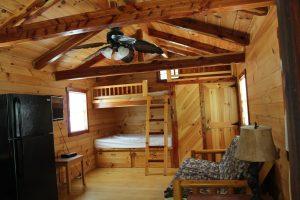 Hidden Paradise Campground - Riverben Creekside Cabin