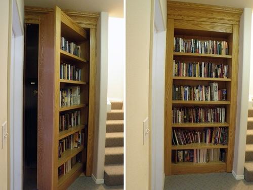 #27. Bookcase Door