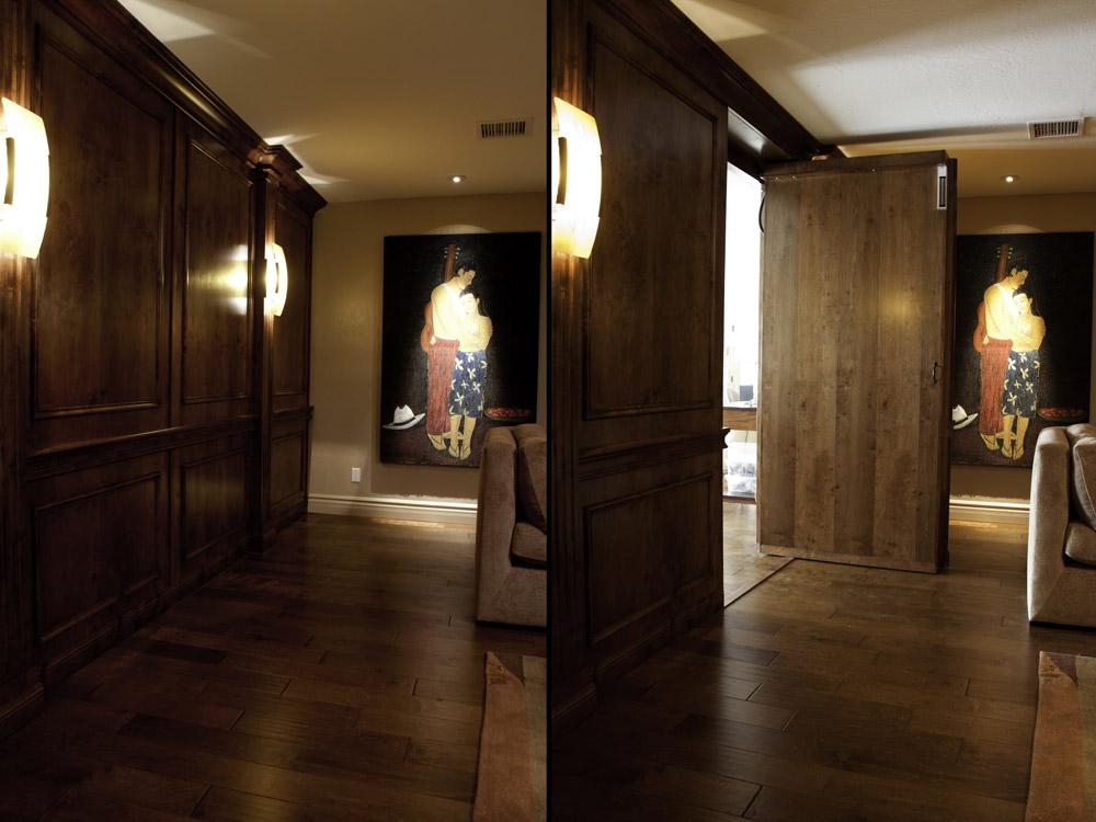 #7   Hidden Door In Wall   Creative Home Engineering