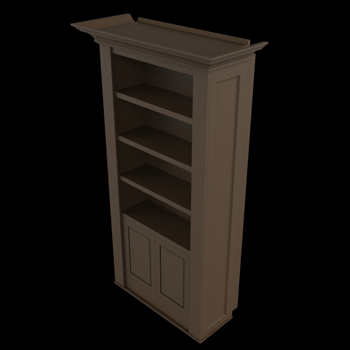 Single Bookcase Door