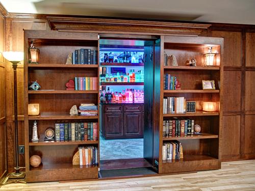 Sliding Bookcase Door