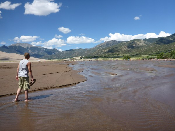 Dune Hiking at Great Sand Dunes National Park 72215