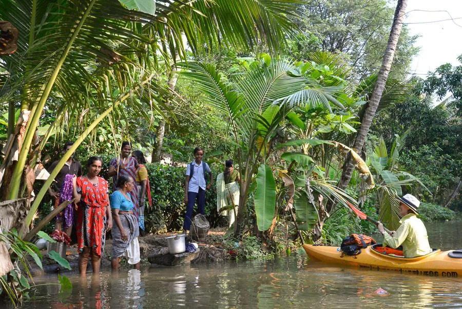 Kayaking India Adventure