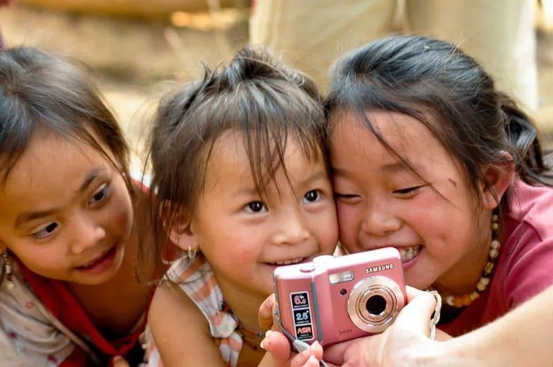 Happy Faces in Indochina Tour