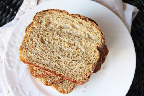 Molasses Oat Sandwich Bread - healthy bread forgiving for those of us less than friendly with yeast!
