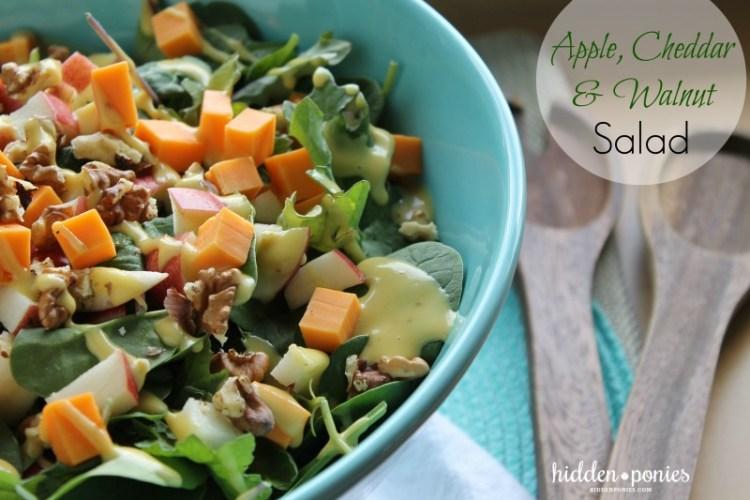 Apple, Cheddar & Walnut Salad