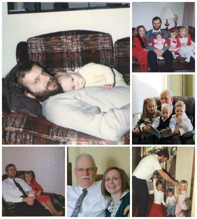Father's Day Collage