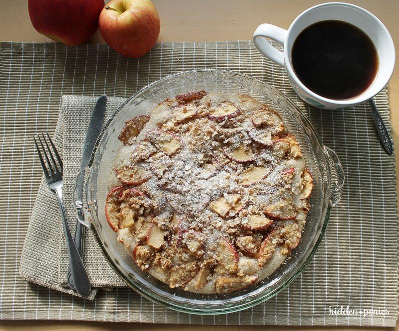 apple pancake top